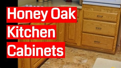 honey oak kitchen cabinets youtube