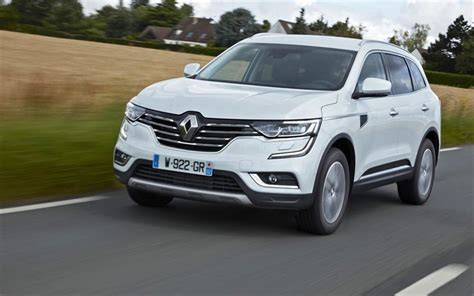 Renault Koleos Wallpapers by Wallpapers Renault Koleos 2017 White Renault