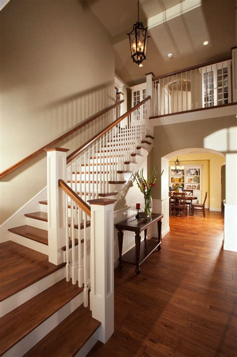 Cape cod kitchen ideas staircase traditional with hardwood