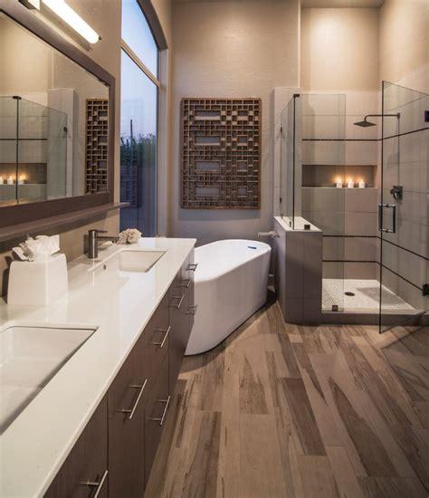 chic contemporary bathrooms  inspiration  ideas