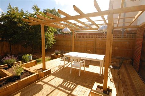oxford railway sleeper patio raised beds