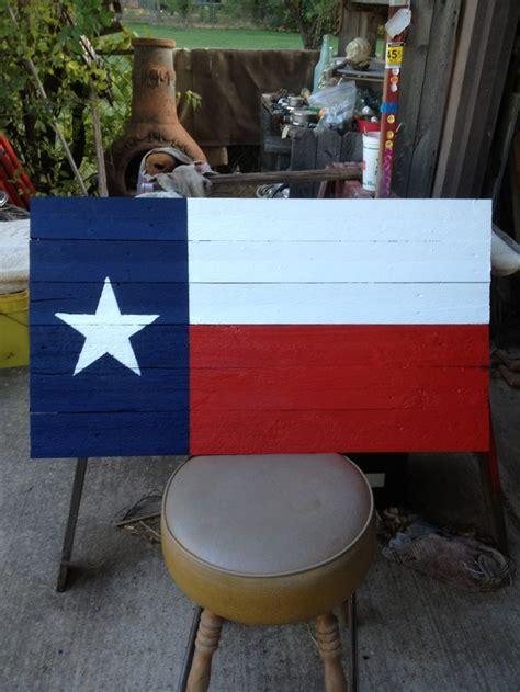 texas flag   fence panel slats wood flag wooden