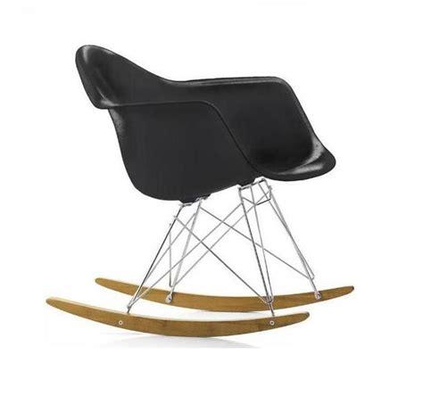 fauteuil charles eames rar noir discount design