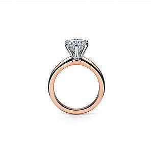 Tiffany Ring Verlobung : the tiffany setting engagement ring in 18k rose gold tiffany gold engagement ring rose ~ A.2002-acura-tl-radio.info Haus und Dekorationen