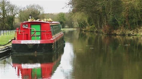 Canal Boats England by Narrow Boats Staffordshire England Overhead Productions