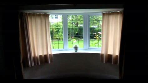 Bay Window Eyelet Curtain Pole by Tracks Direct For Bespoke Made To Measure Bay Window