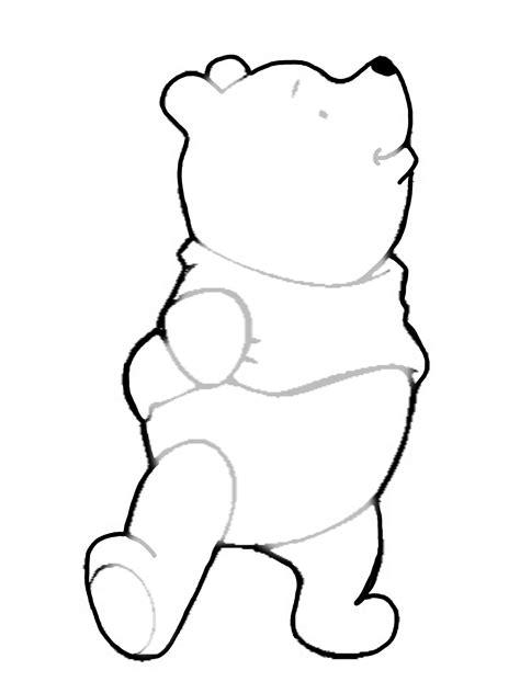 winnie  pooh stencil winnie  pooh birthday