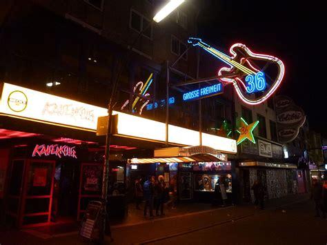clubs und discos grosse freiheit  hamburg berlin