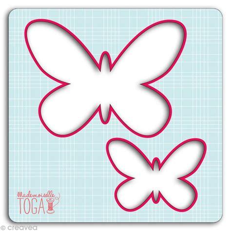 bureau manucure gabarit pour appliqué papillons 12 5 cm gabarit pour