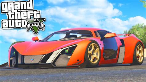 Fastest Car In The World! (gta 5 Mods Gameplay