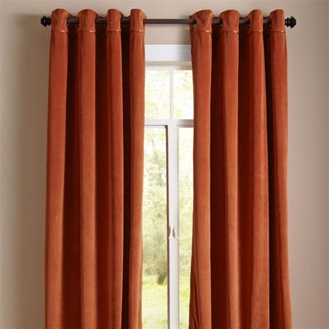 Pier One Curtains Panels by Plush Curtain Clay Pier 1