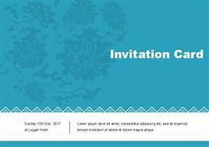 Classic Invitation Card