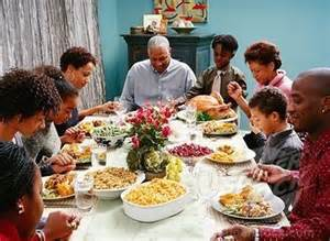 american family praying superstock family saying grace at thanksgiving dinner