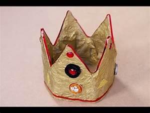 Couronne En Papier à Imprimer : diy couronne en papier m ch youtube ~ Melissatoandfro.com Idées de Décoration