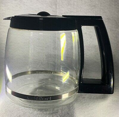 Bodum pour over coffee maker with permanent filter. Cuisinart 14 Cup Replacement Glass Carafe Black Coffee ...