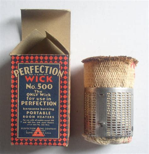 vintage perfection heater   wick   stock