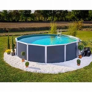 piscine mtal hors sol mtal aspect bois 390m trigano store - Piscine Hors Sol Metal Aspect Bois