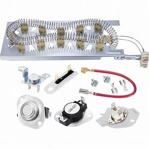 Heating Element Kit Thermostat Fuse Kenmore Dryer 90