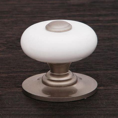 decorative kitchen cabinet knobs rk international ck 316 p porcelain cabinet knob large 6498