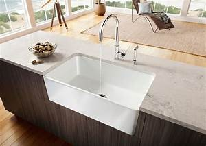 new blanco farm sink for contemporary kitchens With big farm sink