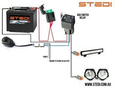 Wiring Diagram For Relay Light Bar by Led Light Bar Relay Wire Up Polaris Rzr Forum Rzr