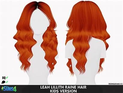 Cc Sims Hair Toddler Lillith Leah Redheadsims