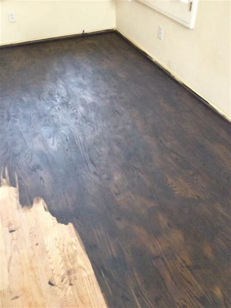 hardwood floors uneven why some wood should not be stained dc hardwood flooring