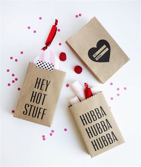 Printable Valentine's Day Bags