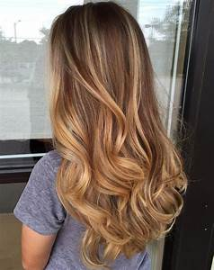 Balayage Ombré Blond : 20 sweet caramel balayage hairstyles for brunettes and ~ Carolinahurricanesstore.com Idées de Décoration