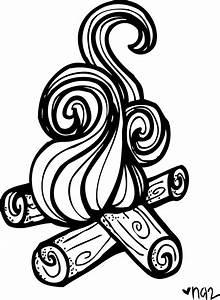 Fire Clipart Black And White – 101 Clip Art