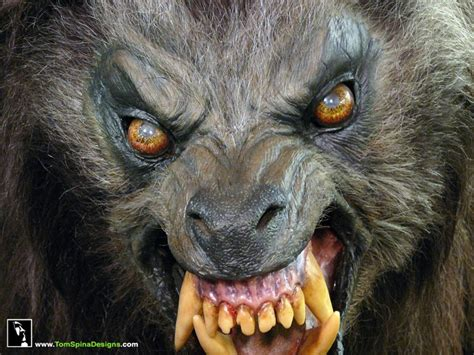 Real Scary Wolf Wallpaper by Rick Baker American In Prop