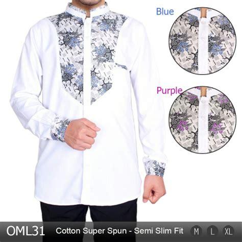 jual baju koko pria muslim modern jasko batik