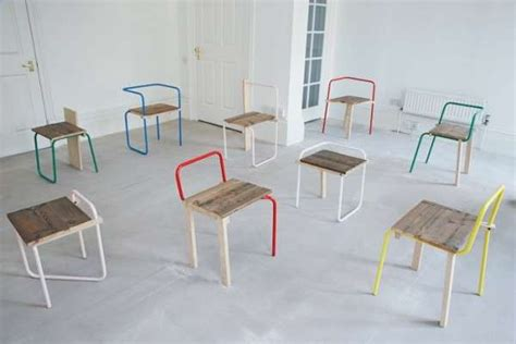 playful pipe furniture variations   tube