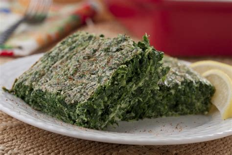 spinach souffle really simple spinach souffle mrfood com