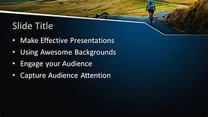 Microsoft Powerpoint Themes 2010 Free Outdoor Cycling Powerpoint Template Free Powerpoint
