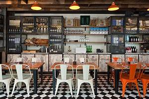 Cuisine Style Industriel Vintage : le restaurant au style industriel de jamie oliver ~ Teatrodelosmanantiales.com Idées de Décoration