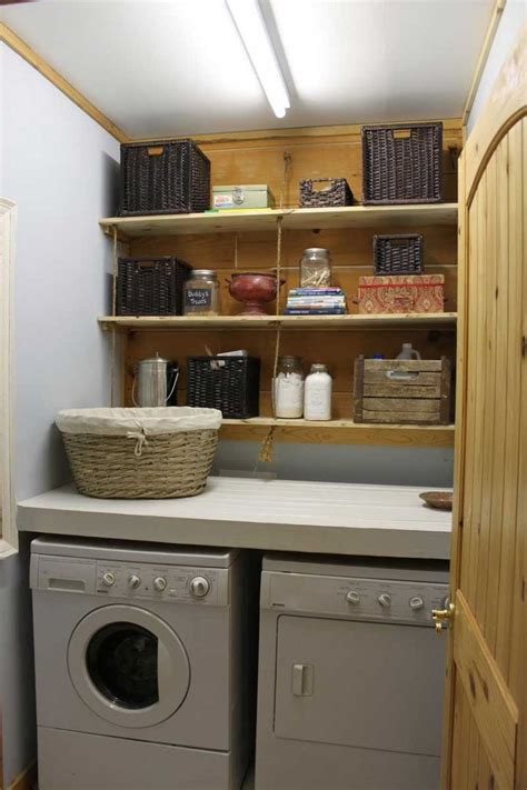 washer and dryer closet for laundry room ideas simple