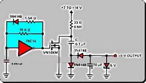 A Charge Pump Circuit Diagram