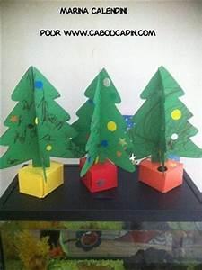 Fabriquer Un Sapin De Noel En Carton : comment faire un sapin 3d en carton ~ Nature-et-papiers.com Idées de Décoration