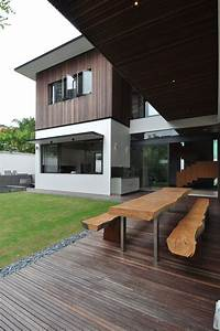 Sunset, Terrace, House, By, A, Collective