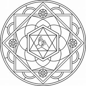 Mandala para la Curación Mandala enfocado en lograr la curacion de dolores y afecciones