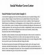 7 Sample Social Worker Cover Letter Free Sample Sample Social Worker Cover Letter 9 Documents In PDF Word Cover Letter It Manager Cover Letter Format Cover Letter Social Work Objective
