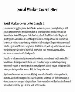 7 Sample social worker cover letter Free Sample