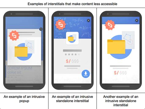 goggle mobile will quot intrusive interstitials quot with a