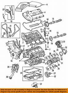Jaguar 02 08 X Type Engine Oil Pan Gasket C2s43270