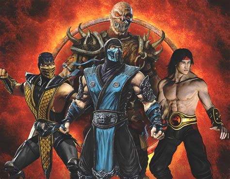 Which Mortal Kombat Character Are You Quiz Zimbio