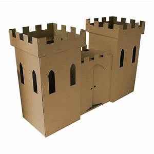 kid eco castle brown by kid-eco cardboard toys ...
