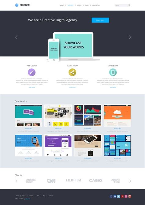 Responsive Website Templates Single Page Responsive Website Templates Free Lowielun Eu