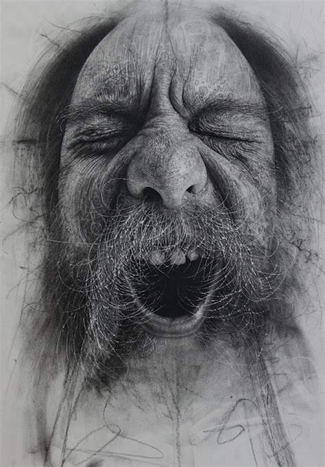 how to use charcoal incredible charcoal drawings textured with scalpel blades and sandpaper