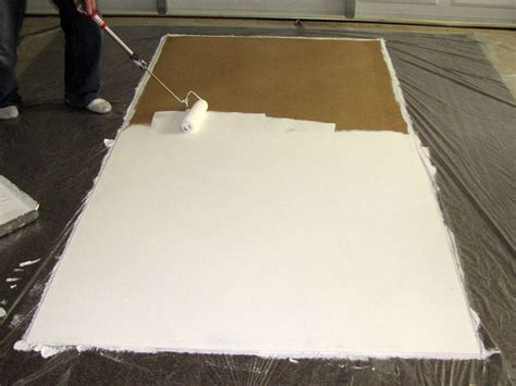 spread the plastic drop cloth out to protect your work surface from any paint that glass bead projection screen